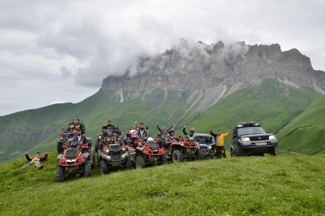Внедорожная экспедиция Альтаир